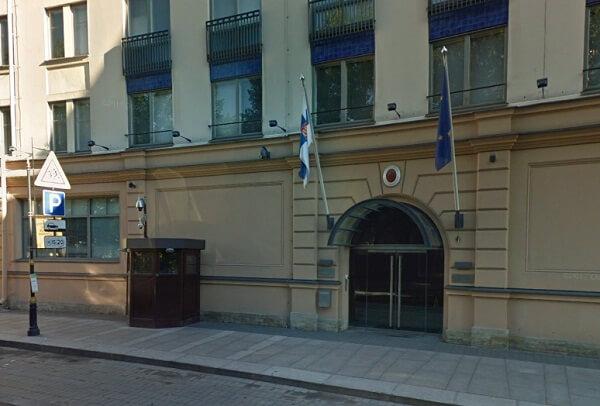 Здание генконсульства в Петербурге