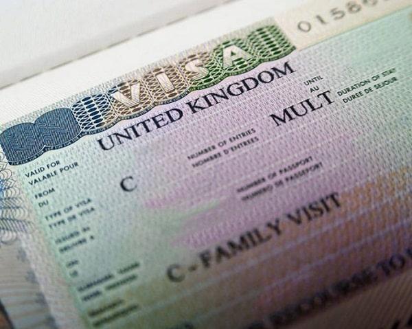 Гостевая британская виза