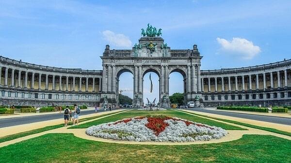 Парк пятидесятилетия в Брюсселе