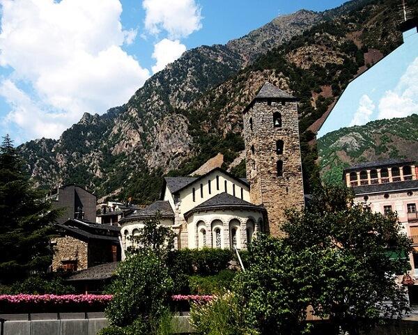 Монастырь в Андорре