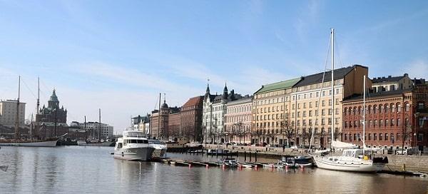 Причал в Хельсинки