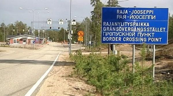 Погранично-таможенный переход на финской границе