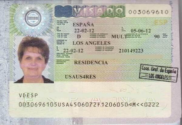 Национальная виза D