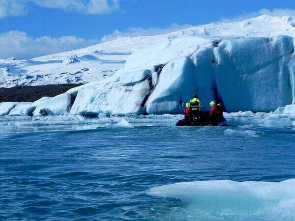 Айсберг и ледники Исландии