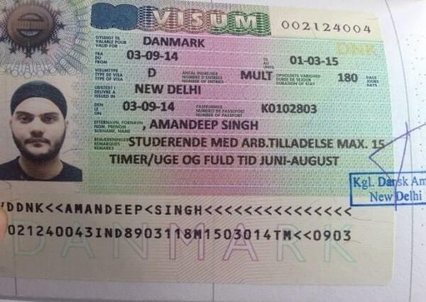 Национальная виза Д