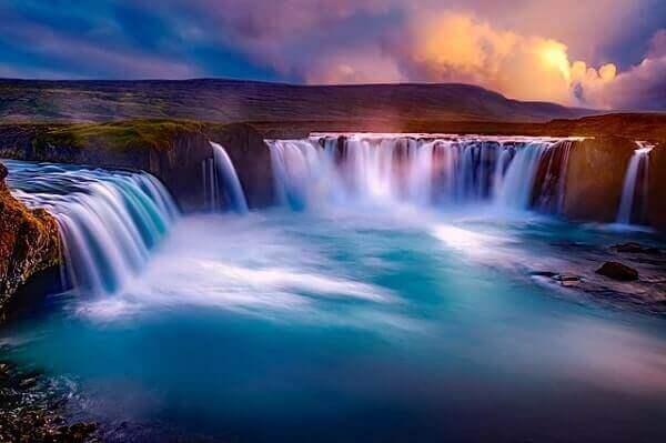 Годафоский водопад в Исландии