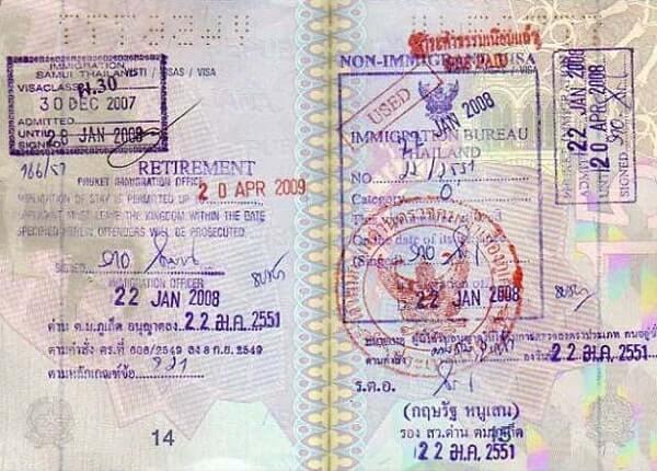 Пенсионная виза Таиланда