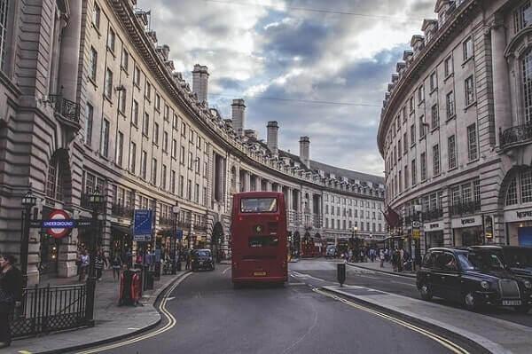 Регент стрит в Лондоне