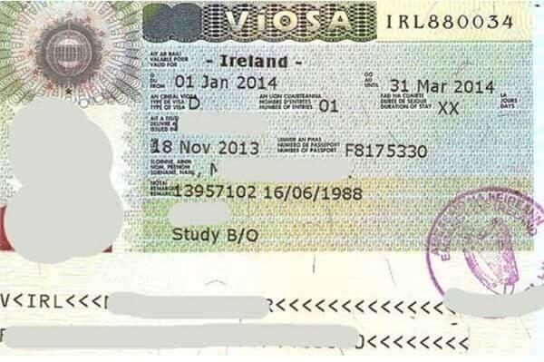 Студенческая виза в Ирландию