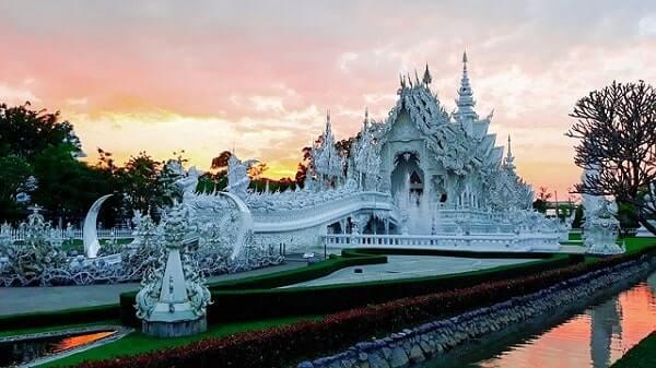 Белый Храм в Бангкоке