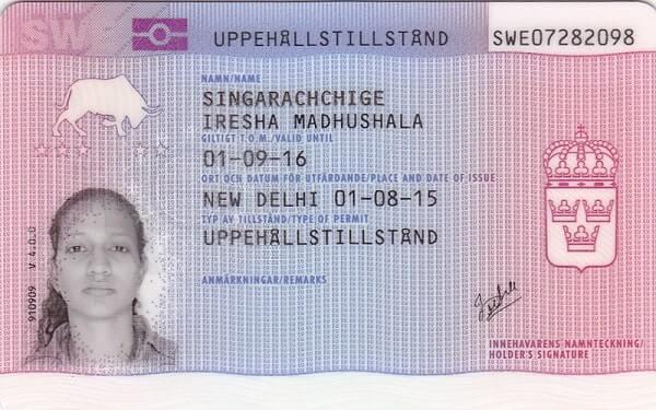Студенческая виза Швеции