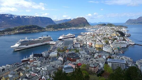 Алесунд Норвегия