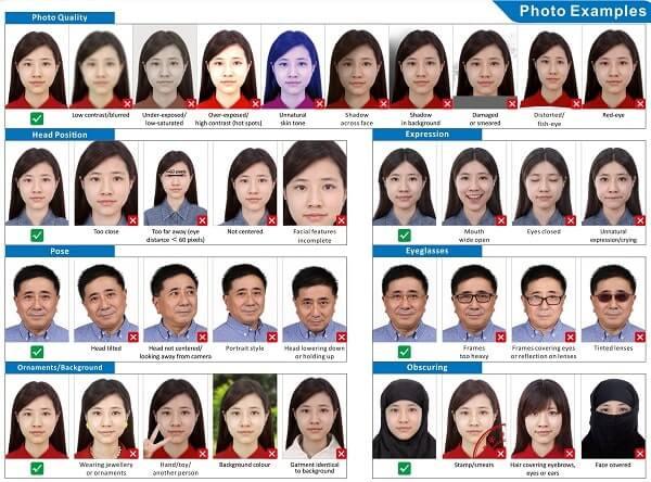 Фото для китайской визы