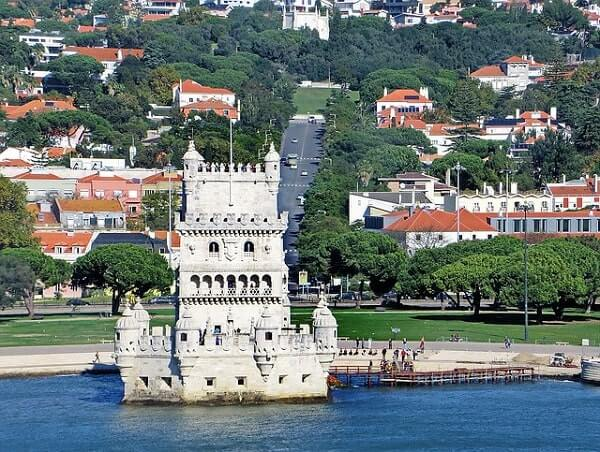 Белая башня в Лиссабоне