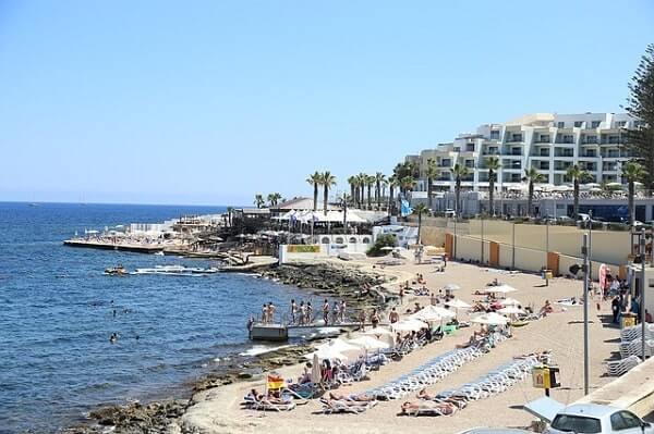 Мальтийский пляж