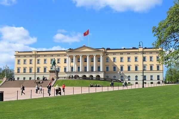 Королевский дворец в Осло