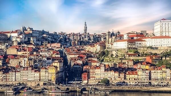 город Порто