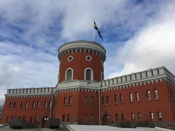Крепость в Стокгольме