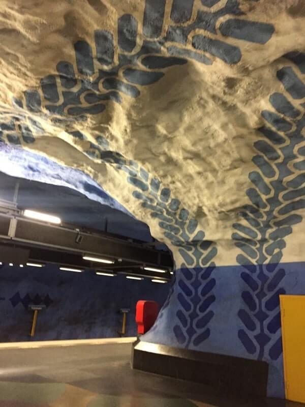 Вход в стокгольмское метро