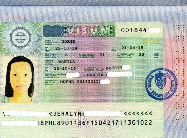 Национальная долгосрочная виза Д