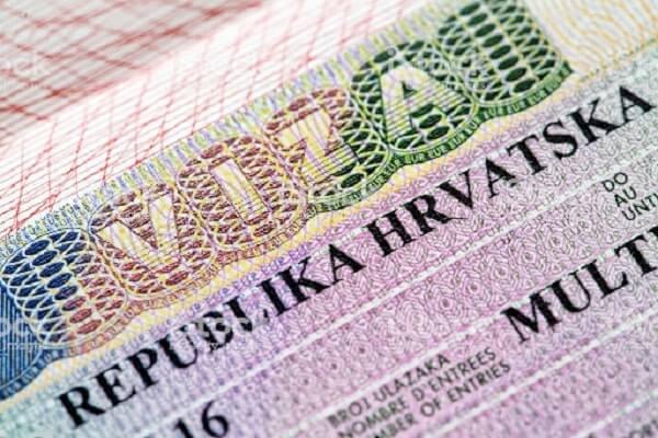 Визовое разрешение Хорватии