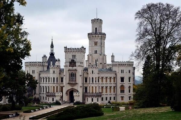 Замок Глубока над Влдавой