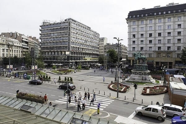 Белград площадь Республики