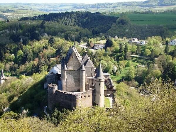 Замок в Люксембурге