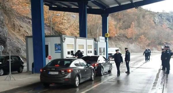 Пересечение границы в Косово