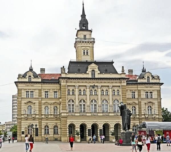Ратушная площадь в Белграде