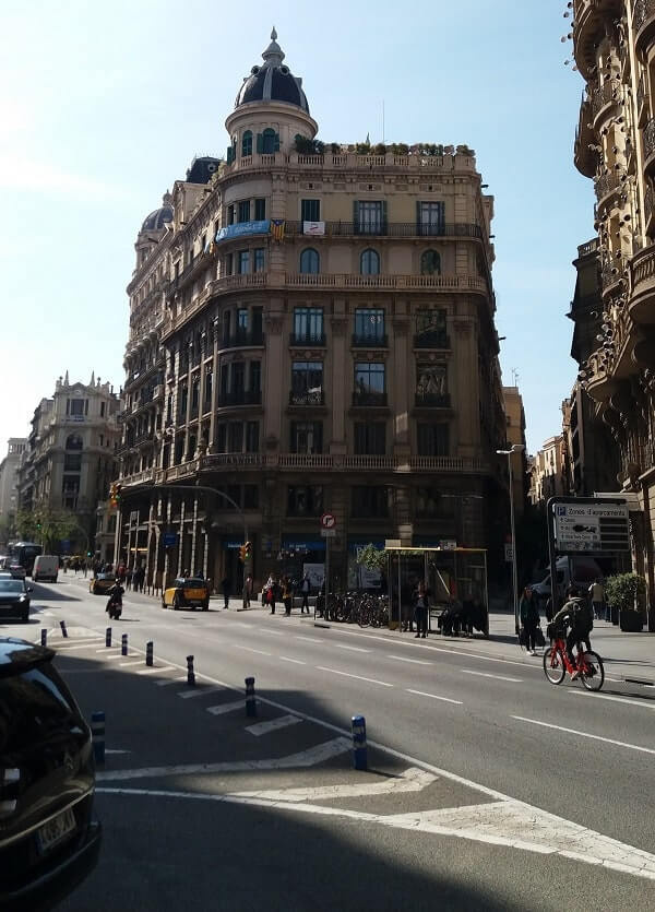 Соблюдение рядность при вождении в Испании