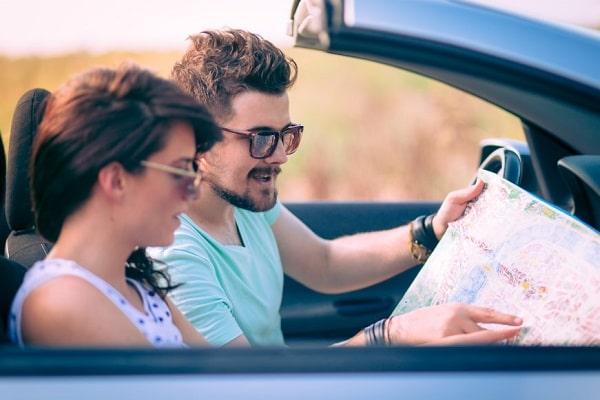Путешествие на арендованном автомобиле