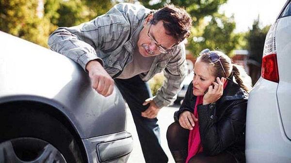 Авария во время аренды авто