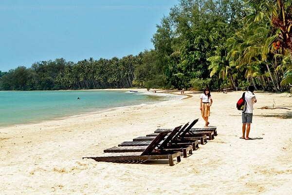 Пустынные пляжи Таиланда