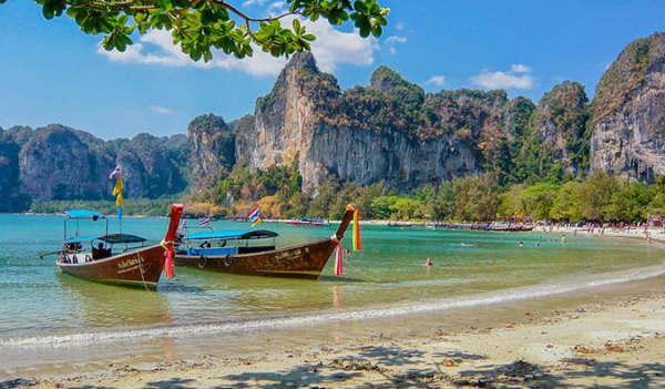 тайские длинноносые лодки