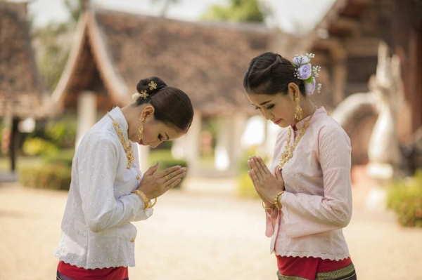 тайское приветствие
