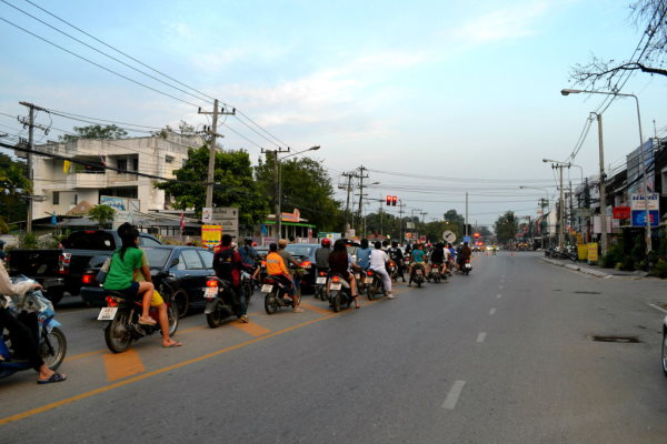 Движение в Таиланде