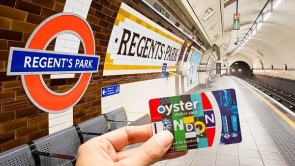 Поездки с проездной картой Visitor Oyster Card