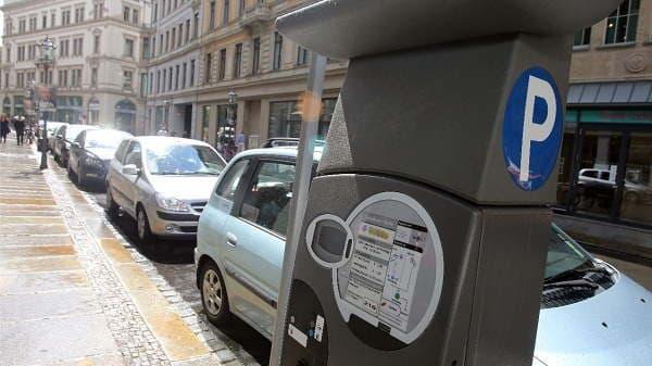 Паркинг в центре города