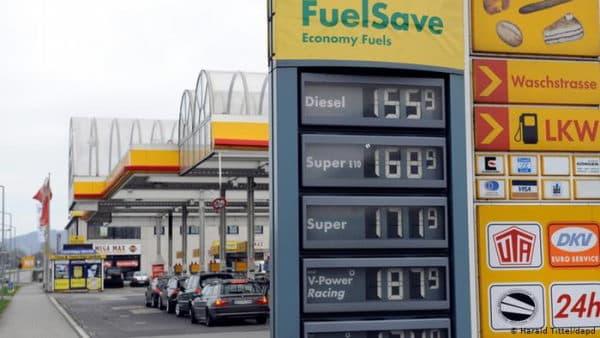Цены на топливо в Германии