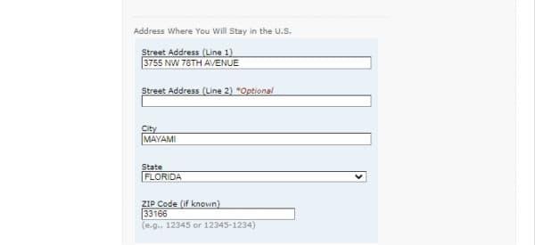 Анкета ds-160 в США-13